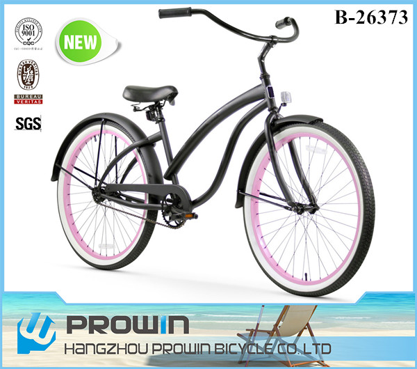 "2016 26"" single speed beach crusier bike/bicicleta cruiser/26 inch chopper bike for sale (PW-B26373)"