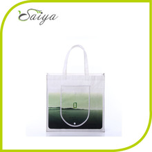 Fashion foldable shopping bag reusable pp non woven foldable tote bag cheap foldable shopping bag for marketing and promotion