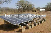 The latest product 3kw portable solar power system for small home