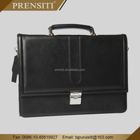 PRENSITI commercial western leather handmade briefcase men bag