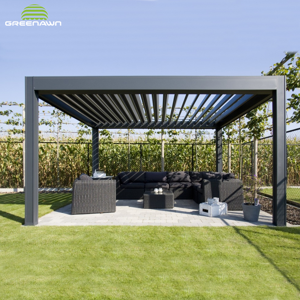 High quality aluminum profile for pergola roofing materials, View aluminum  profile for pergola, Greenawn Product Details from Guangzhou Greenawn  Awning ... - High Quality Aluminum Profile For Pergola Roofing Materials, View