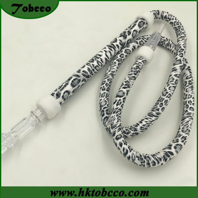 Acrylic Pipe Leather Portable China Manufacture Smoke Accessory Washable Hookah Pipe
