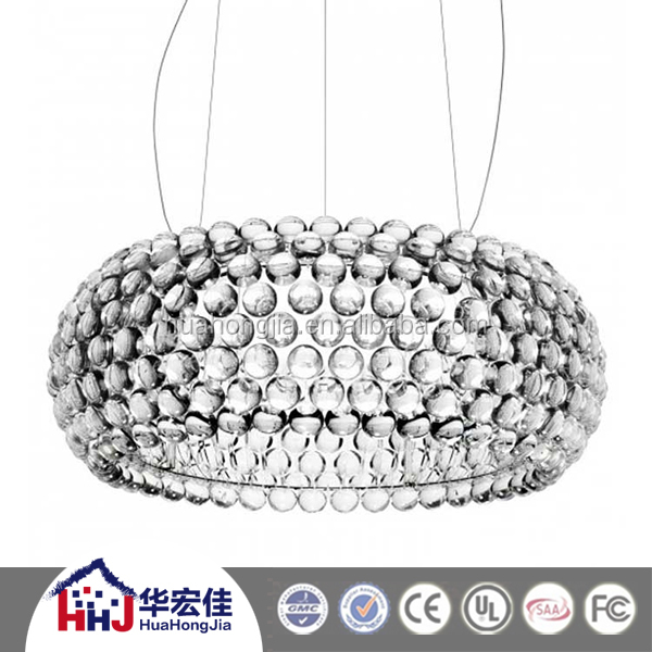 hotel projec solar led replica foscarini caboche pendant light with acrylic ball