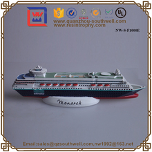 Hot Sales Resin Ship For Sales For Home Decoration