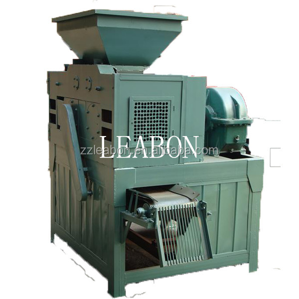 charcoal made of bamboo powder machine, ball making machine, briquette machine