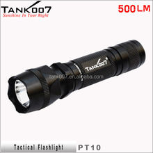 TANK007 PT10, strong light flashlight with Cree XR-E R5 LED
