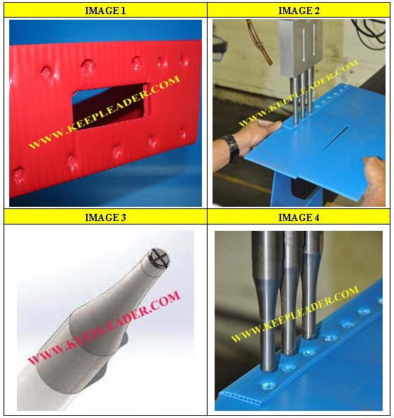 ultrasonic welding machine for plastic corrugated box spot