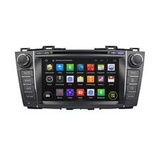 4 core HD Bluetooth DAB+ car radio stereo system dvd player for mazda premacy 2010