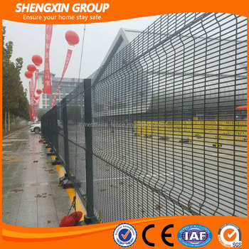 Anti-climb 358 wire mesh fence panels(manufacturer)