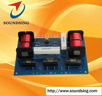 two way crossover with tweeter electronic protection (SD-2018A)