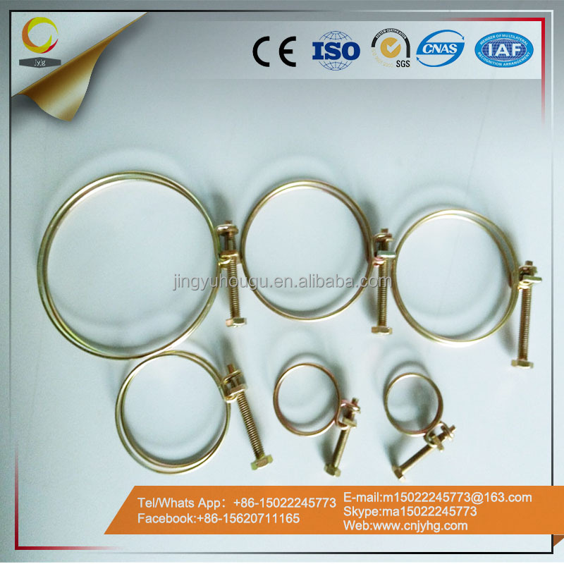 Wholesale Double wire hose clamp wire rope cross clamp
