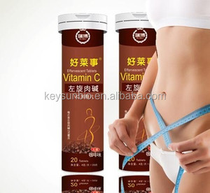 coffee flavour lose weight effervescent tablet