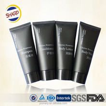 Soft Matt Black Plastic Packaging Tube