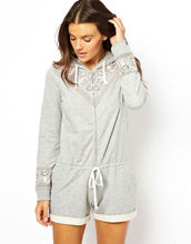 High quality Grey Knited Pajamas Night suit (SL71020)