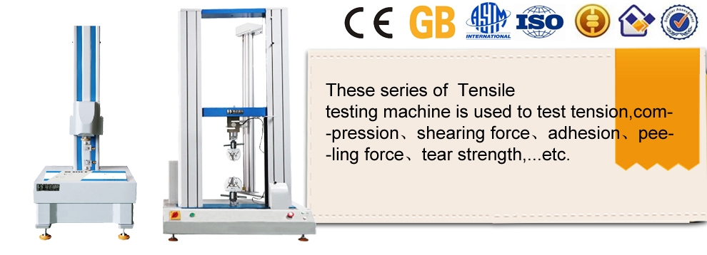 Double Column Electronic Universal Fatigue Tensile Testing Machine for Rubber Price