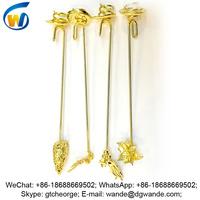custom gold angel candle holder, angel wing candle holder