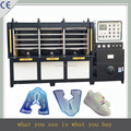 Dongguan energy saving shoe vamp production line,kpu sport shoe maker machine with sensor