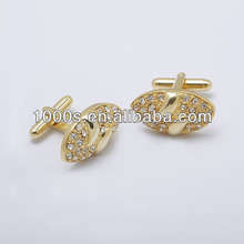 2012 New Style Charm Fashion Custom Stainless Steel Cufflinks For Women