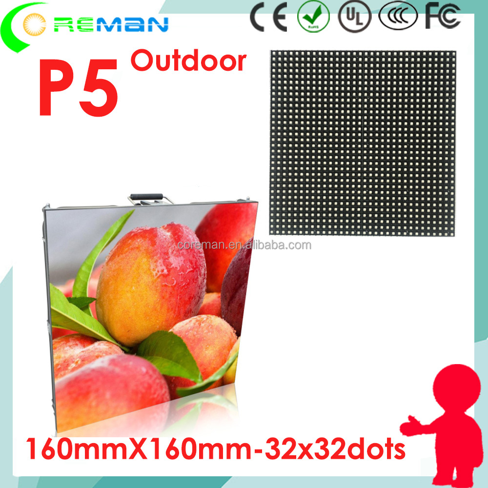 sexy picture hd photos led video wall p5 outdoor