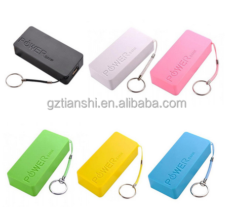 Portable Charger power bank Mobile USB External Battery powerbank 5600mAh portable battery charger for all phones