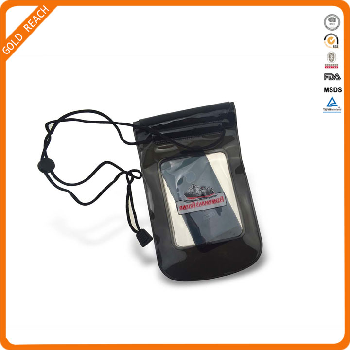 2016 Promotional PVC Waterproof Phone Case For Swimming