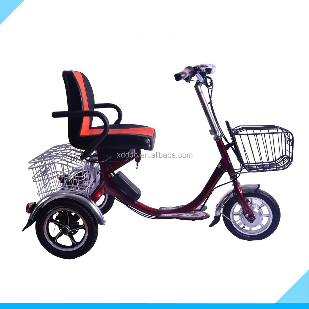 12 inch 48 V High Quality 3 wheel Electric Scooter For Old People