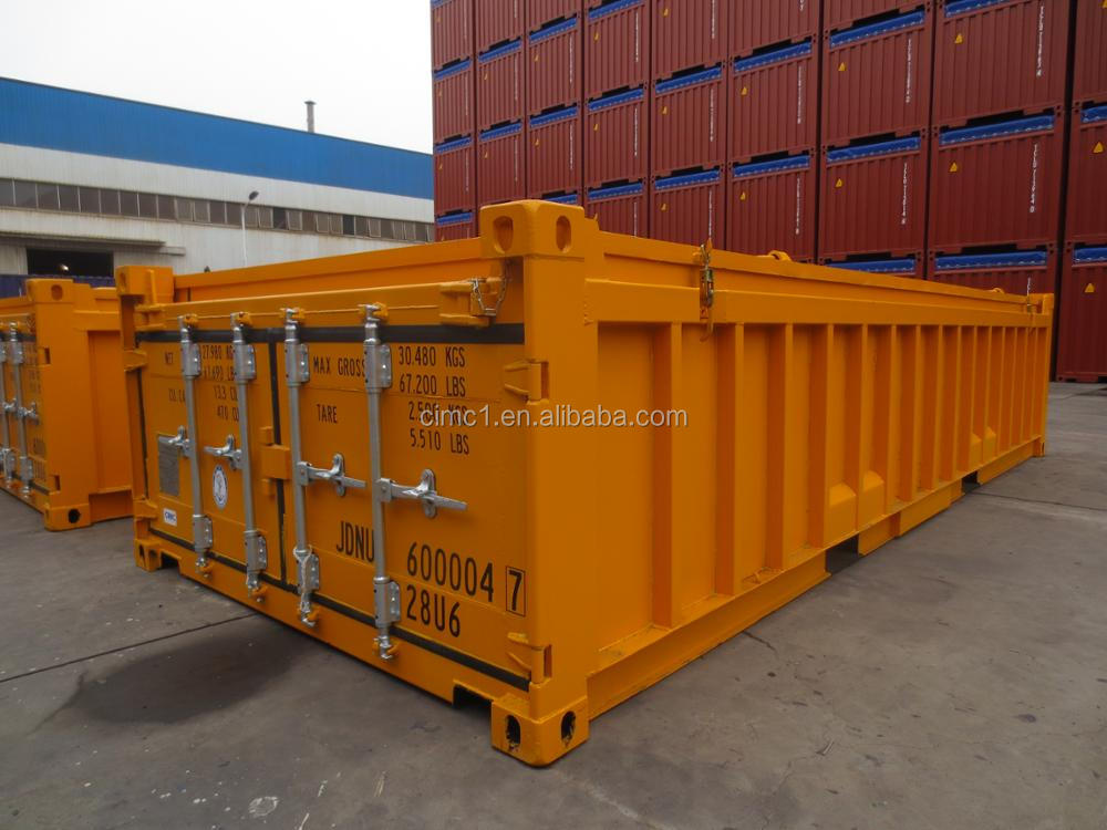 new 20ft half height container with BV,GL,ABS,LR,CCS certified