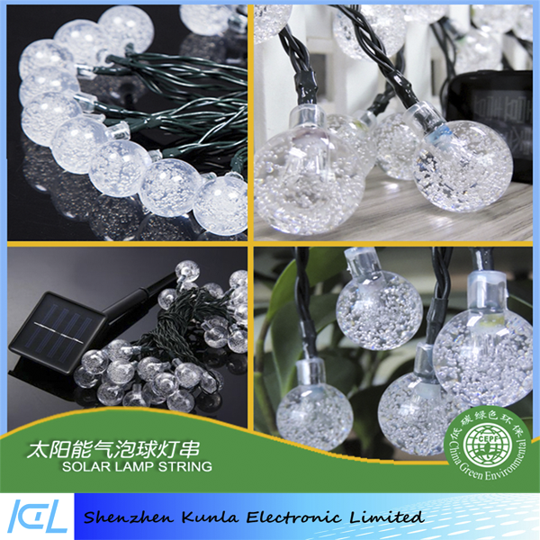 Solar Powered Operated Copper Wire LED Decorative String Lights for Indoor Outdoor Home Garden