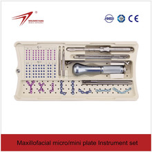 Maxillofacial surgery instrument surgical support apparatus (autoclave)