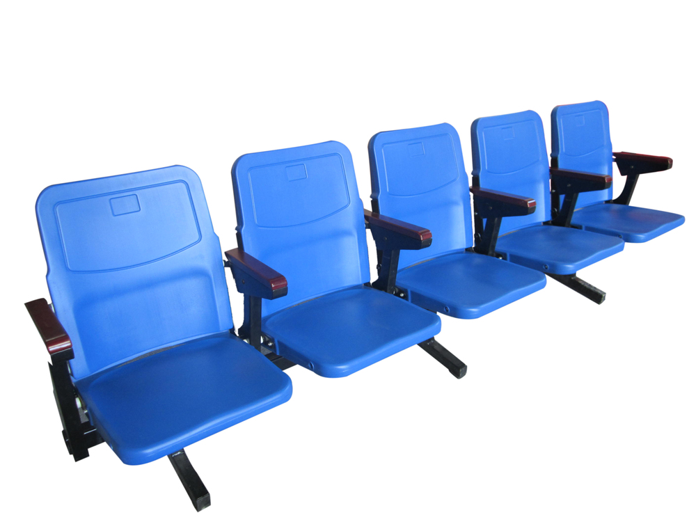 Flip Up Spector Chair Seating Blow Modling Plastic Seat