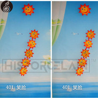 wholesale wind spinner Cartoon sun garden decoration flying wind spinner parts factory hanging garden diy wind spinner motor