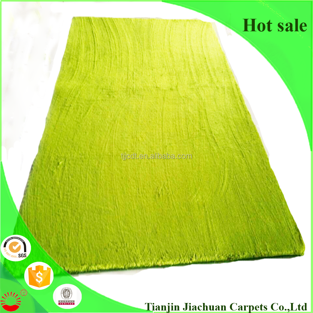 polyester pvc antislip backing north pole fleece living room floor carpet tile