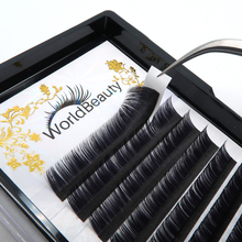 Private Label Hair Extensions Synthetic Silk Lashes Individual Mink Lash Extensions