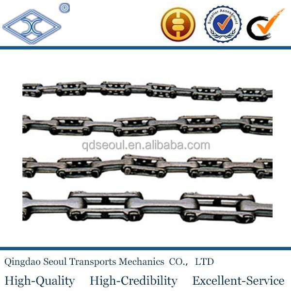 X348 x458 x678 drop forged detachable overhead drive conveyor trolley hanging chain
