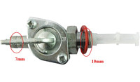bicycle fuel switch valve petcock for motorized bike engine 49cc 80cc 66cc