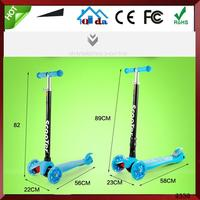 Fashion Design Foot New 3 Wheel Adult Kick Scooter For Adult