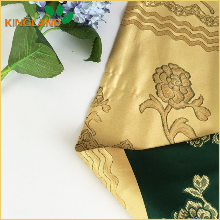 New style fashion design jacquard blackout window drapery fabric