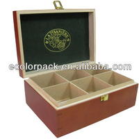 High Quality Wooden Tea Box With