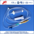 Sterile infusion set for single use, high quality