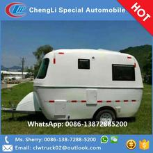 Luxury decorated RV caravan travel trailer at competitive price