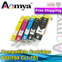 New style !!! Compatible Canon PGI-750 CLI-751 Ink Cartridge for Canon pixma MG6370 with newest chip
