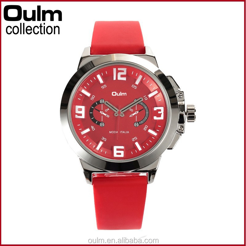 2015 red silicone watch, lady silicone watch wholesale, wrist watch for women