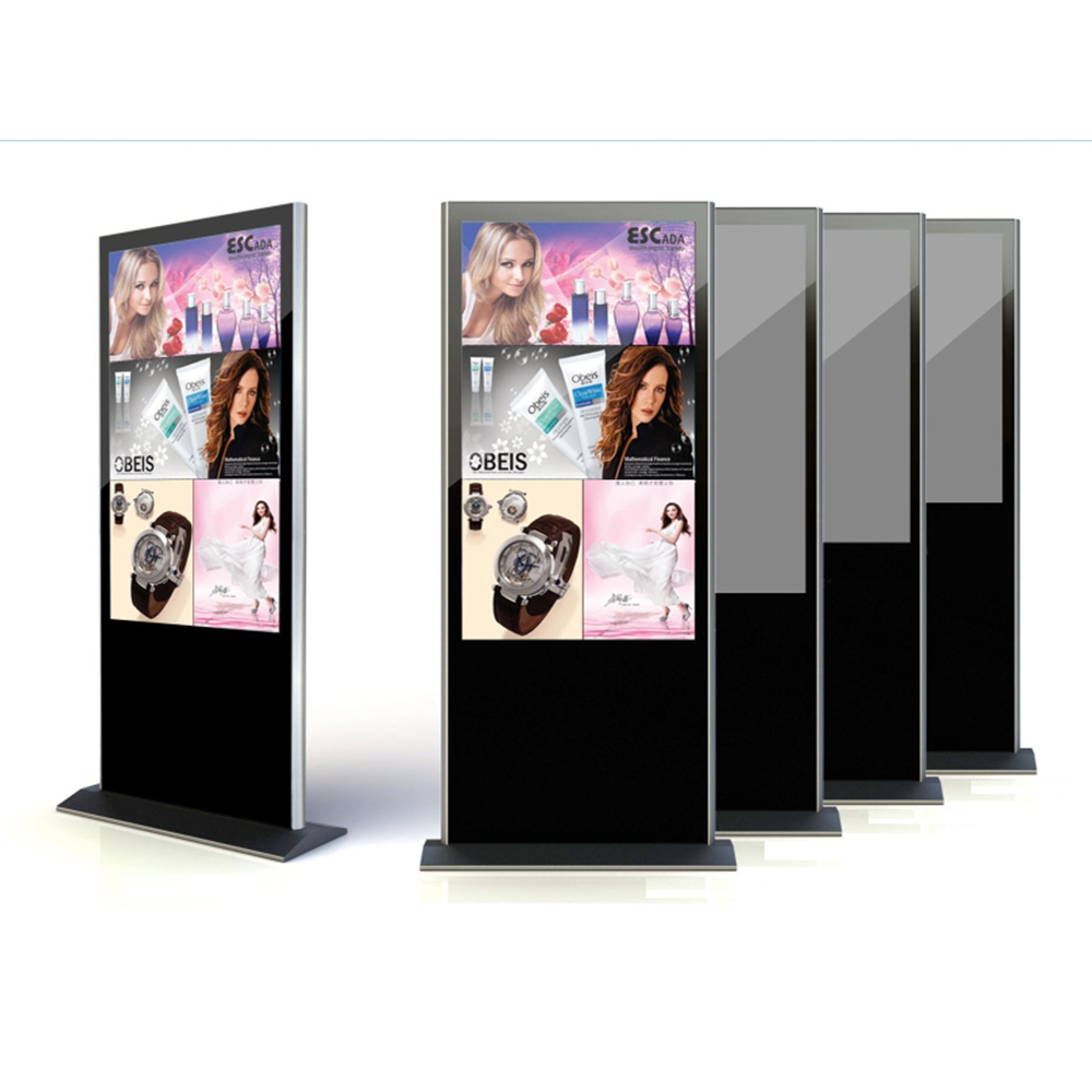55'' indoor vertical lcd advertising player digital signage display