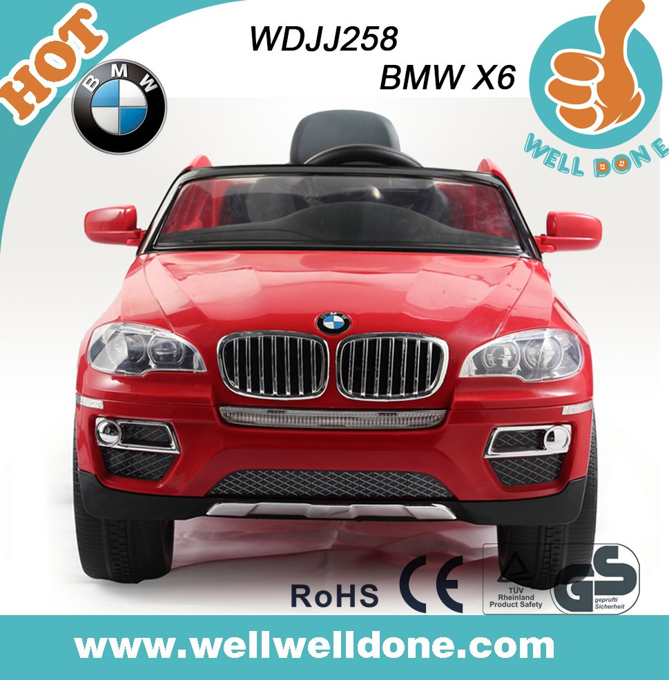 New Cool Toy Car for Kids to Drive, CE approval,electric car for children,electric kids car, licensed BMW X6
