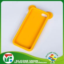 Wholesale universal bear ears rubber cell phone case