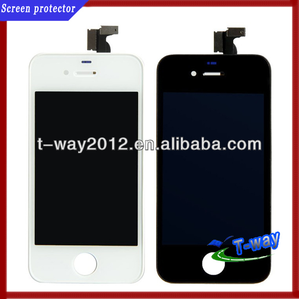 Promotion good quality mobile phone lcd for iphone 4/4s touch