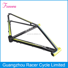 Racing Type Alloy 6061 MTB suspension bike frame