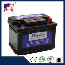 MF55515 DIN series 12V55AH automotive mf battery
