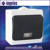 Pure Copper Or Iron High Quality Electric Wall Switch For Home