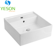 RS1206 From China chaozhou white coloured ceramic bathroom basins